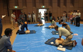 防災訓練の充実
